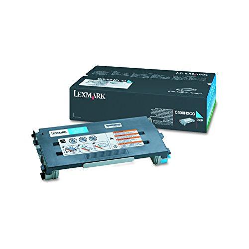 (Lexmark C500H2CG Toner, 3000 Page-Yield, Cyan)