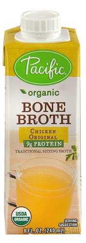 Pacific Natural Foods Organic Bone Broth Chicken Original -- 8 fl oz - 2 pc by Pacific (Image #1)