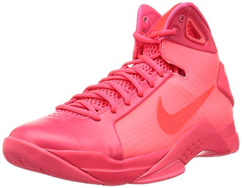Nike Men's Hyperdunk'08 Basketball Shoes, Red (Solar Red/Solar Red-Solar Red), 10