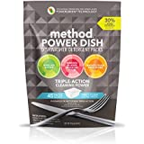 Method Power Dish Dishwasher Soap Packs, Free + Clear, 45 Load