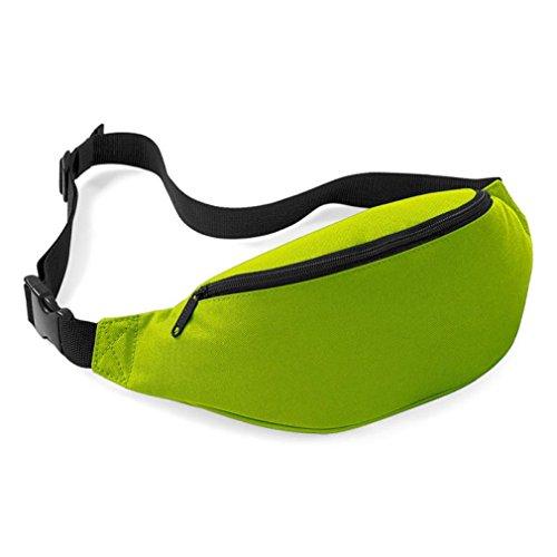 Unisex Bag Travel Handy Mini Waist Pack Bags Hiking Sport Fanny Chest Bag Belt Zip Pouch (G)