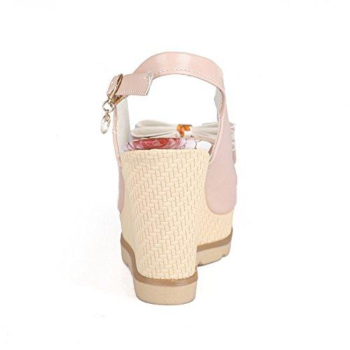 1TO9 Sandales Sandales femme pour Rose 1TO9 pour femme wavq6aZ