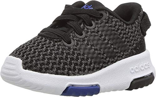 adidas Performance NEO Girls' Racer TR Inf Sneaker,Carbon/Core Black/Collegiate Royal,8 M US Toddler