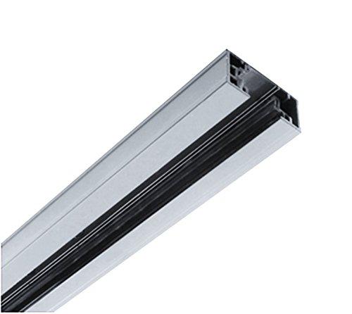 NICOR Lighting 8-Foot Track Rail Section, Nickel (10008NK) by NICOR Lighting (Image #2)