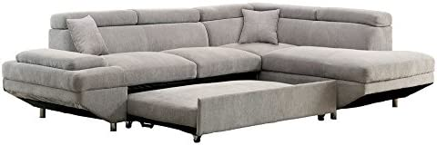 Furniture of America Sectional Gray