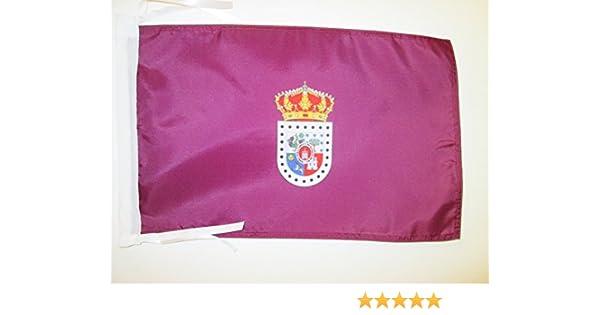 AZ FLAG Bandera de la Provincia DE Soria 45x30cm - BANDERINA Soria EN Castilla Y LEÓN 30 x 45 cm cordeles: Amazon.es: Hogar