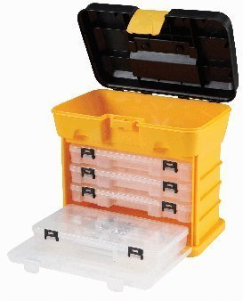 Storehouse Toolbox Organizer with 4 Drawers