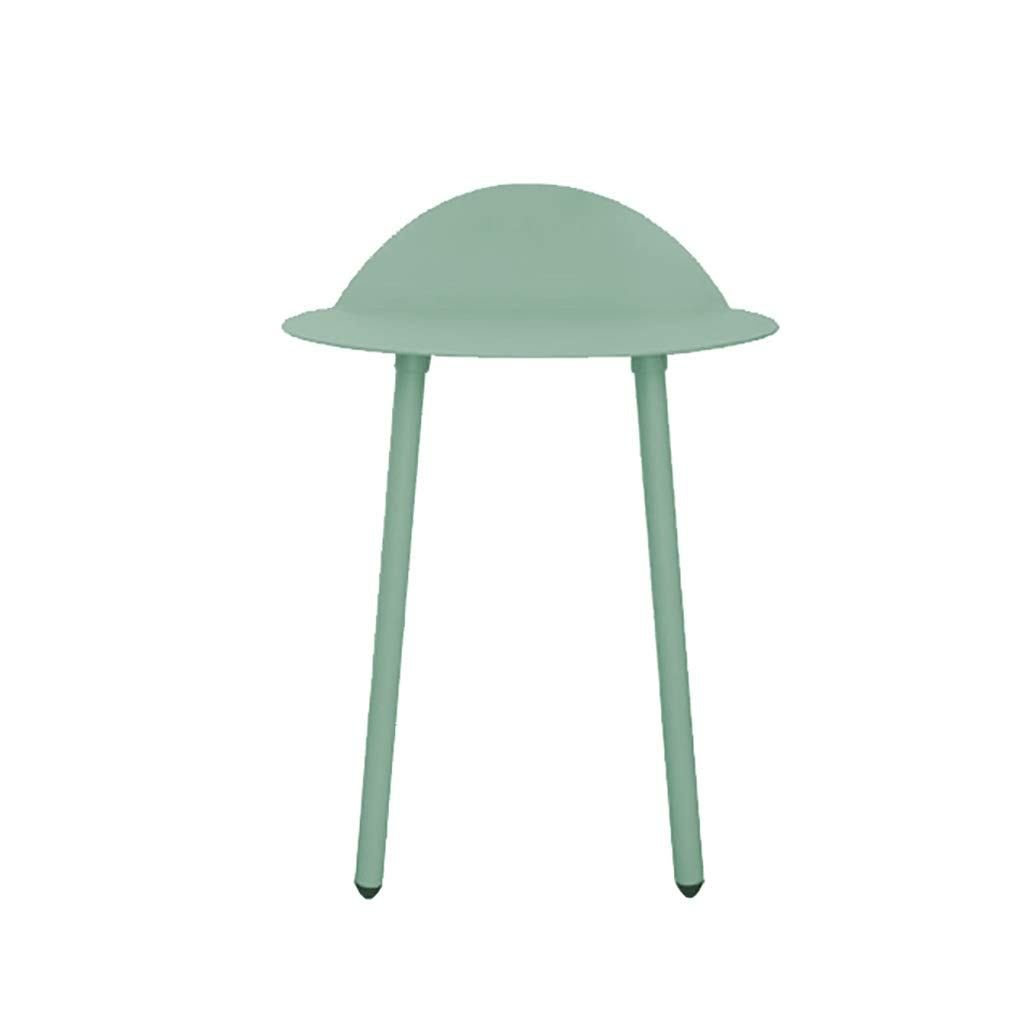 Small Side Tables for Small Spaces, Metal Wall Table, Saving Space, Easy to Install, Wall Desks for Small Spaces, Wall Mounted Desk (Color : Green, Size : Small) by WYQ
