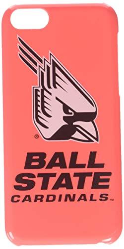 Guard Dog NCAA Ball State Cardinals - Carcasa para iPhone 5C, Rosado, Una Talla