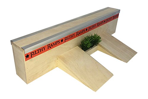 Filthy Fingerboard Ramps Trump Wall, Fingerboard Fun Box from by Filthy Fingerboard Ramps