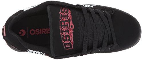 Osiris Hommes Troma Redux Skateboarding Chaussure Deadman / Red