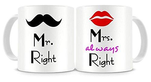 Mr. and Mrs. Right Coffee Mug