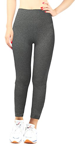 98bc5c7f24072d iLoveSIA Women's Tights Capri Yoga Ankle Workout Leggings Pants US Size L  Grey