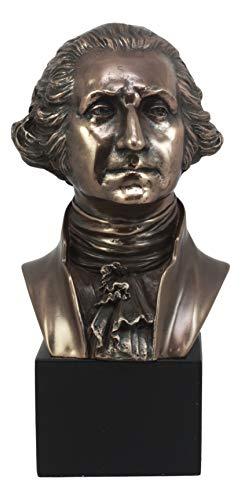 "Ebros First President Of United States George Washington Bust Figurine 9""H Founding Father Historical Revolution Political Memorabilia"