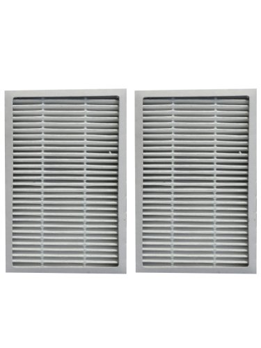 (2) Kenmore Progressive EF 2 Pleated Vacuum HEPA Filter w/activated Charcoal, 86880 Sears Vacuum Cleaners, C38KBRM, 20-86880, EF-2, # 40320, 02080001000, 610445, MC-V194H, MCV194H, KER-1805, 748167711949, 471194, Appliances for Home