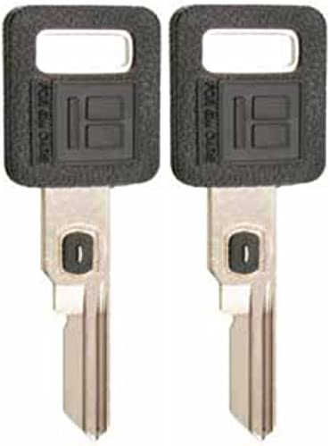 2 Single Sided VATS Ignition Key #1 Blank Uncut V.A.T.S B62-P1 MADE IN USA Keys Pack Pair