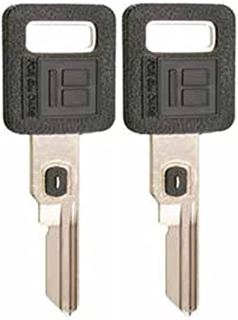 Single Sided VATS Ignition Key #6 Blank Uncut V.A.T.S B62-P6 2 KEYS PACK MADE IN USA
