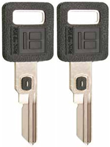 2 KEYS PACK Single Sided VATS Ignition Key #10 Blank Uncut V.A.T.S B62-P10 MADE IN USA