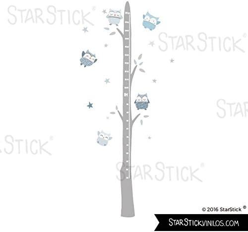 Medidor B/úhos Azul Vinilos infantiles StarStick