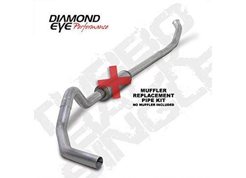(Diamond Eye K4218A-RP Turbo-Back Exhaust Kit)