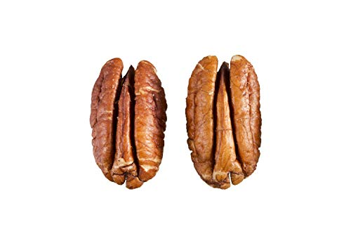 USDA Certified Organic Pecan halves in 5 Lbs Bulk and Vacuum bag; 2018-2019 new crop. 100% Natural and Organic nuts, Non - GMO, No Preservatives, No PPO, ()