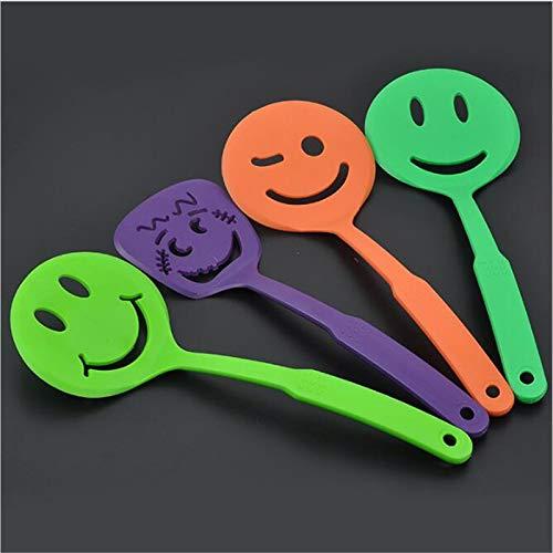 Cartoon Slice Nonstick Spatula Cartoon Smiley Kitchen Utensils Baking Tool Kitchen Gadget Random kangxiaoyan