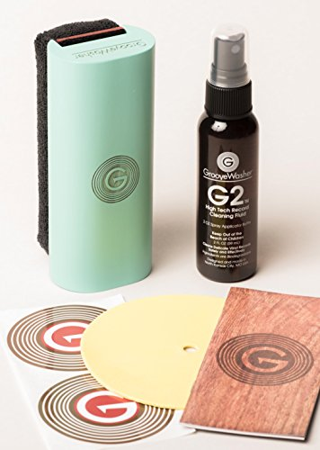 GrooveWasher Record Cleaning Kit-South Beach Green by GrooveWasher