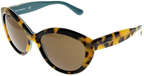 Dolce & Gabbana Sunglasses Women Havana Oval DG4239 - Gabbana Sunglasses Discount Dolce