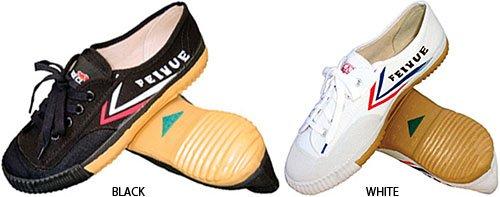 Gungfu Feiyue Shaolin Shoes - Color: Black, Size: 40