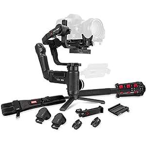 Zhiyun Crane 3 LAB 3-axis Handheld Gimbal Stabilizer for DSLR/Mirrorless Camera Sony Canon Panasonic Nikon (Creator Package - with Phone Holder,Zoom/Focus Motor, Camera Belt, Quick Setup kit,monopod)