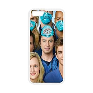 Scrubs iPhone 6 Plus 5.5 Inch Cell Phone Case White&Phone Accessory STC_194496