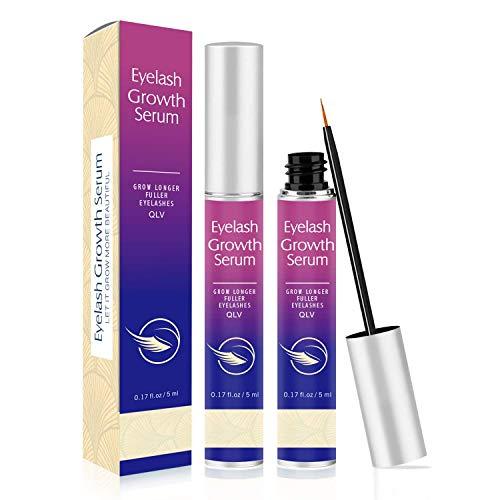 Eyelash Growth Serum, Eyebrow Enhancer – Grow Longer Fuller Thicker Eyelashes and Eyebrows, Lash Boost Serum Lashes…