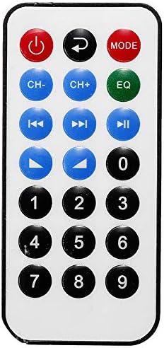 ACAMPTAR 800W 12//220V HiFi 2CH Amplificador de Potencia Audio Sistema de Sonido de Cine en Casa Amplificador de Audio FM Tarjeta USB para Autom/óVil Dom/éStico Enchufe de la UE