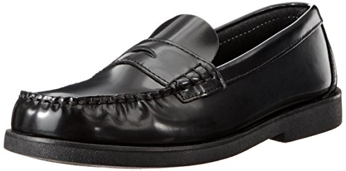 Sperry Colton Penny Loafer (Toddler/Little Kid/Big Kid),Black Leather,3 M US Little Kid