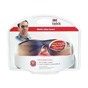 3M Metallic Safety Eyewear, Mirror Lens