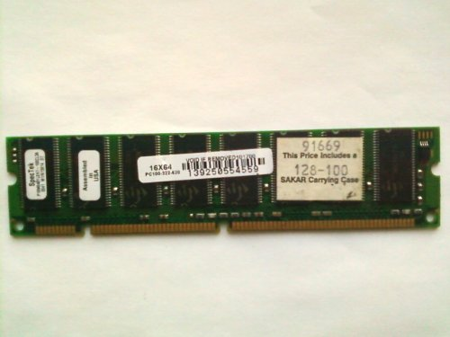 SpecTek 128MB SDRAM PC-133 Mfr P/N P16M648YLEF7-133CL3A