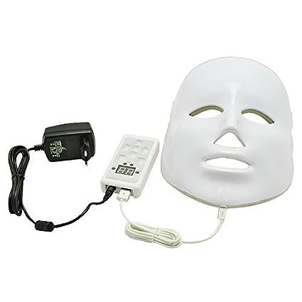 Denshine® Anti Aging Fotone 3 colores LED Máscara facial, de Fototerapia para recién la
