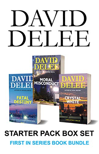 David DeLee Starter Pack Box Set: First in Series: Crime Thriller Book Bundle by [DeLee, David]