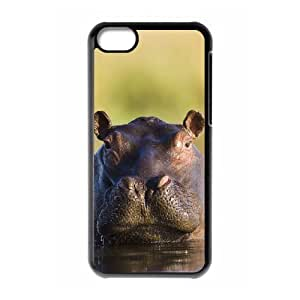 chen-shop design Protection Cover Hard Case Of Hippo Cell phone Case For Iphone 5C high XXXX