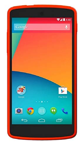 Unlocked Smartphone Red (LG Nexus 5 D820 16GB Unlocked GSM 4G LTE Quad-Core Android Smartphone - Red (Certified Refurbished))