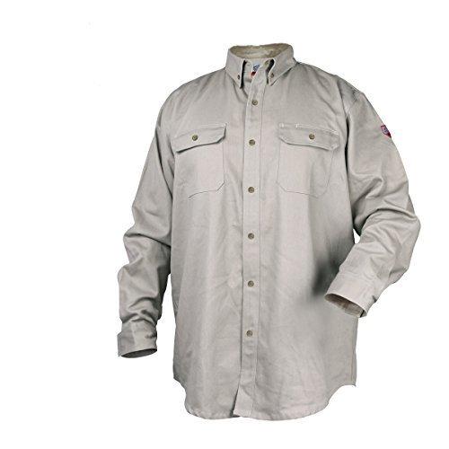 Black Stallion TruGuard 300 NFPA 2112 Flame-Resistant Cotton Work Shirt - XL by Black Stallion (Image #1)