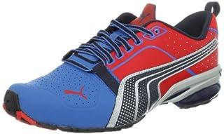 PUMA Men's Cell Gen Running Shoe, Vallarta BlueHigh Risk