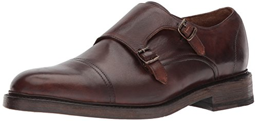 Frye Hombre Jones Double Monk-strap Loafer Brown