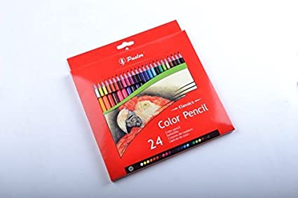 Amazon Com Pasler Color Pensils Set Of 24 Pre Sharpened Colored Pencils For Adult Kids Coloring Books Drawing Pencil Art Set Toys Games