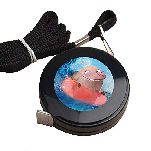 Yunuo Swimming Pig Tape Measure Tape Measure For Measuring Soft And Easy To Organize Tape - (Swimming Pig)