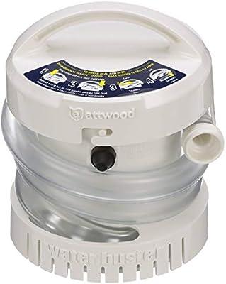 Attwood 4140-4 Bomba portátil a pilas, 200 g/h, 756 l/h: Amazon.es ...