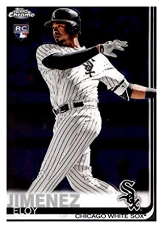 check out ae329 d890d Amazon.com: 2019 Topps Chrome #202 Eloy Jimenez Chicago ...
