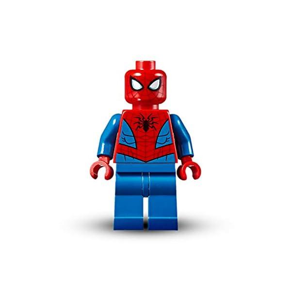 LEGO Super Heroes Il Mech di Spider-Man Set di Costruzioni per Bambini, con la Minifigure di SpiderMan e Ragnatela… 4 spesavip
