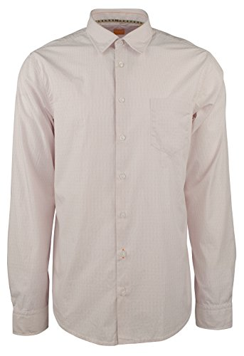 Hugo Boss Men's Orange Label EnameE Slim Fit Striped Shirt-PW-XXL by Hugo Boss