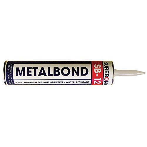 Surebond SB-12 Metal Bond Sealant, 10.3 oz Cartridge, Aluminum Gray by Surebond